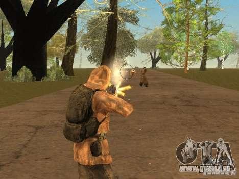 Haut-Narbe von einem stalker für GTA San Andreas fünften Screenshot