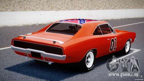 Dodge Charger General Lee 1969 für GTA 4 hinten links Ansicht