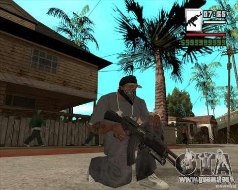 AK47 with GP-30 pour GTA San Andreas troisième écran
