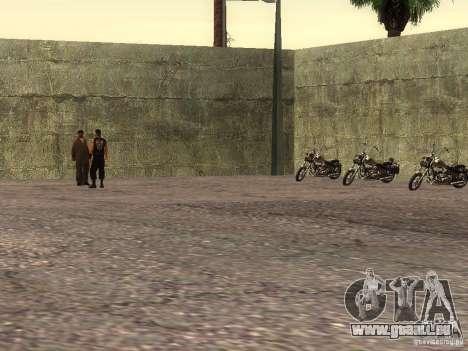 L'école réaliste motards v1.0 pour GTA San Andreas cinquième écran