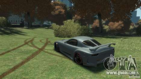 Mazda RX-7 FD3S Veilside Fortune v1.1 für GTA 4 linke Ansicht
