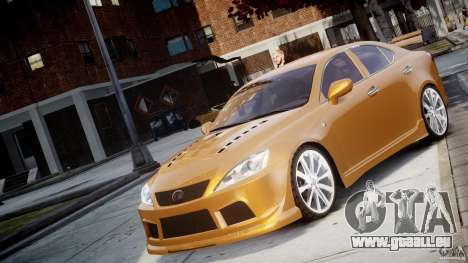 Lexus IS F für GTA 4