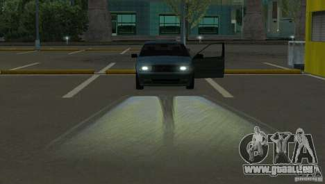 Halogen-Scheinwerfer für GTA San Andreas dritten Screenshot