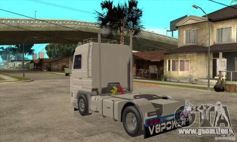 Scania 143M 500 V8 pour GTA San Andreas sur la vue arrière gauche