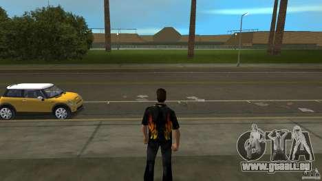 Herr Feuer mit čërnimi jeans für GTA Vice City zweiten Screenshot