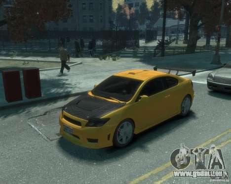 Toyota Scion Tc 2.4 pour GTA 4