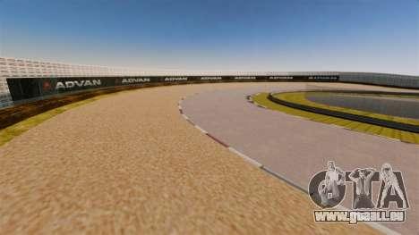 Tsukuba Circuit v3.0 pour GTA 4 troisième écran