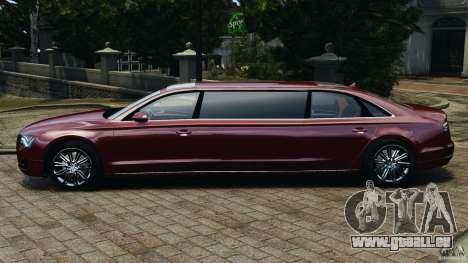 Audi A8 Limo v1.2 pour GTA 4 est une gauche