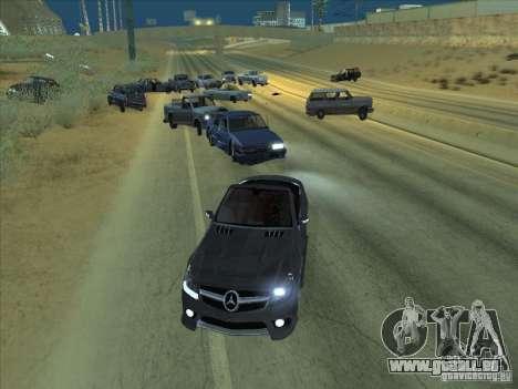 Champ de force pour GTA San Andreas deuxième écran