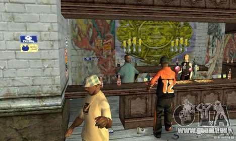 Drunk mod pour GTA San Andreas quatrième écran