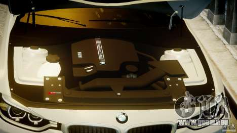 BMW 335i E30 2012 Sport Line v1.0 für GTA 4 Unteransicht