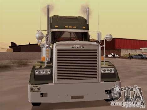 Freightliner FLD 120 Classic XL pour GTA San Andreas laissé vue