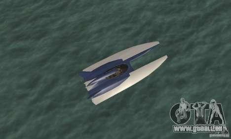 Powerboat pour GTA San Andreas vue de droite