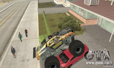 Monster Truck Maximum Destruction pour GTA San Andreas vue intérieure