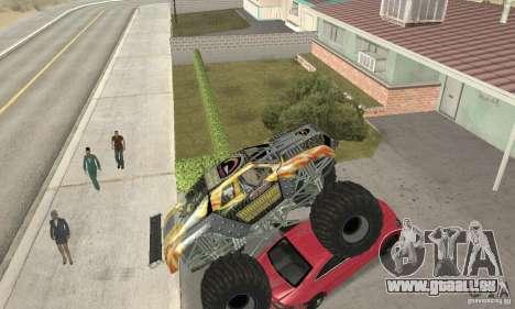 Monster Truck Maximum Destruction für GTA San Andreas Innenansicht