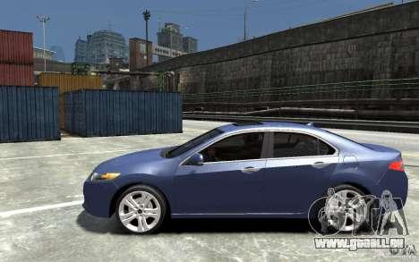 Acura TSX 2011 pour GTA 4 est une gauche