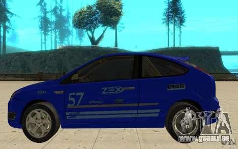 Ford Focus-Grip für GTA San Andreas linke Ansicht