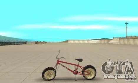 BMX Long 2 pour GTA San Andreas laissé vue