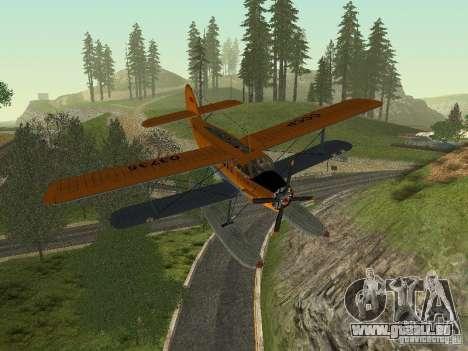 An-2V pour GTA San Andreas vue intérieure