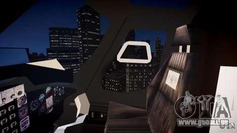 Airwolf v1.0 pour GTA 4 est une vue de l'intérieur