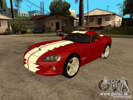 Dodge Viper Coupe 2008 für GTA San Andreas Seitenansicht