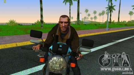 PCJ 600 pour GTA Vice City vue arrière