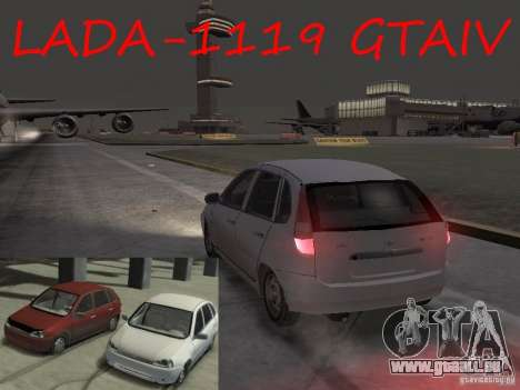 VAZ-1119 Kalina für GTA 4 linke Ansicht