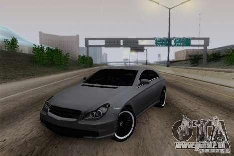 Mercedes-Benz CLS 63 AMG pour GTA San Andreas laissé vue