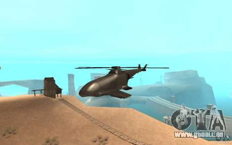 Scout Drone from BO2 für GTA San Andreas