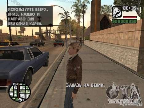 Lucy Stillman in Assassins Creed Brotherhood pour GTA San Andreas deuxième écran