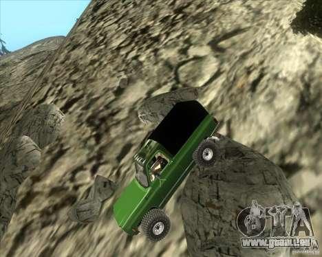 Chevrolet K5 Ute Rock Crawler pour GTA San Andreas