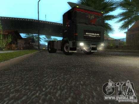 Roman R 10215 FS pour GTA San Andreas laissé vue