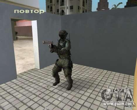 Frost von CoD MW3 für GTA Vice City