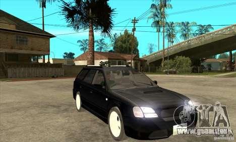 Subaru Legacy Station Wagon für GTA San Andreas Rückansicht