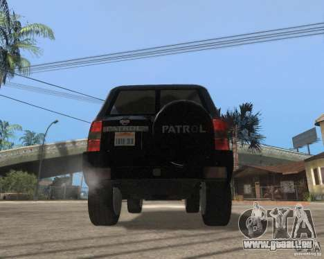 Nissan Patrol 2005 Stock für GTA San Andreas rechten Ansicht