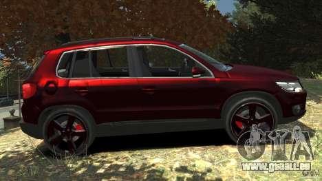 Volkswagen Tiguan 2012 pour GTA 4 est une gauche