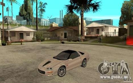 Chevrolet Camaro SS 2002 für GTA San Andreas