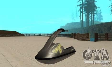 Scooter de mer pour GTA San Andreas vue de droite