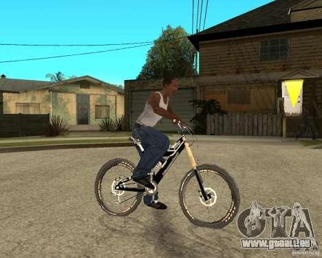 Diamondback strike Beta pour GTA San Andreas vue de droite