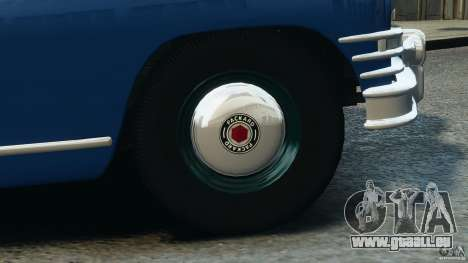Packard Eight Police 1948 pour GTA 4 Salon