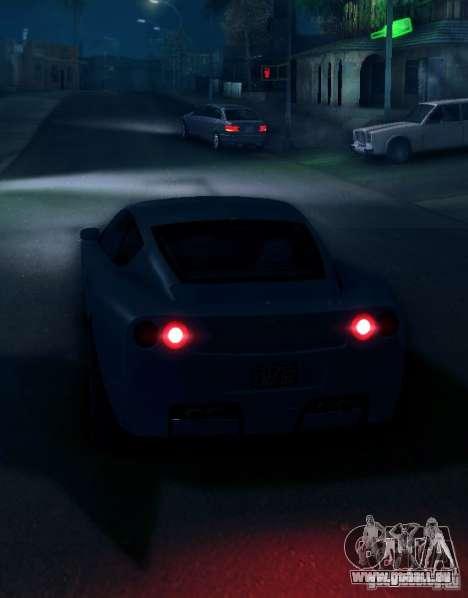 IVLM 2.0 TEST №5 pour GTA San Andreas deuxième écran