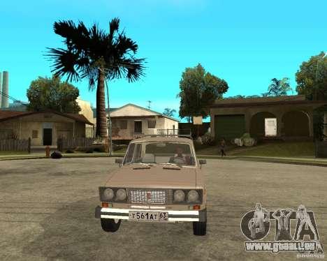 VAZ 21065 für GTA San Andreas Rückansicht
