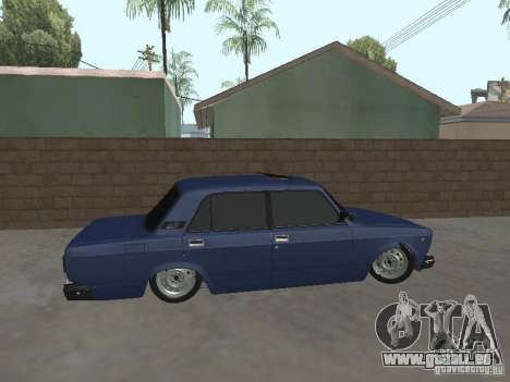 VAZ 2107 v2 für GTA San Andreas linke Ansicht