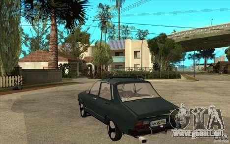 Dacia 1300 Cocalaro Tzaraneasca pour GTA San Andreas sur la vue arrière gauche