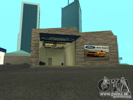 Auto Show Ford pour GTA San Andreas deuxième écran