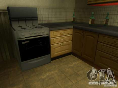 CJ maison nouvelle pour GTA San Andreas sixième écran