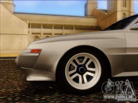 Mitsubishi Starion ESI-R 1986 pour GTA San Andreas vue arrière