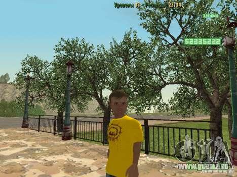 Petite élève pour GTA San Andreas troisième écran
