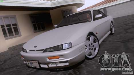 Nissan Silvia S14 Kouki pour GTA San Andreas sur la vue arrière gauche