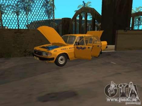 Taxi GAZ 31029 pour GTA San Andreas vue de droite